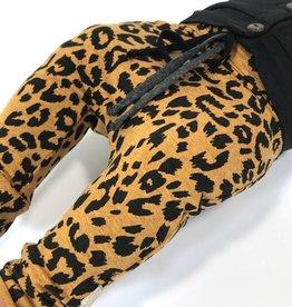 Leopard Ocre / drop crotch