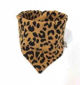 Ocre Leopard / slab bandana sjaal