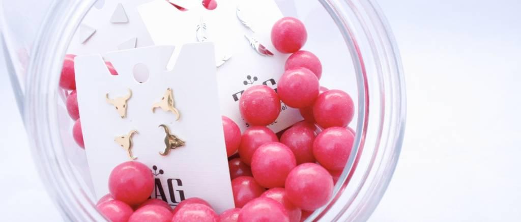 Oorbellen ZAG candy