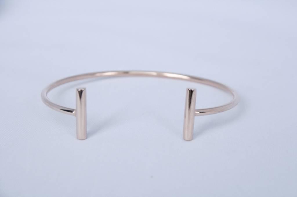 ZAG Bijoux Armband ZAG Bijoux Omega - rose goud
