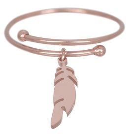 ZAG Bijoux Ring ZAG Bijoux - Ring veer rosé goud