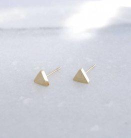 ZAG Bijoux Oorbellen (studs) ZAG Bijoux -  Driehoek goud