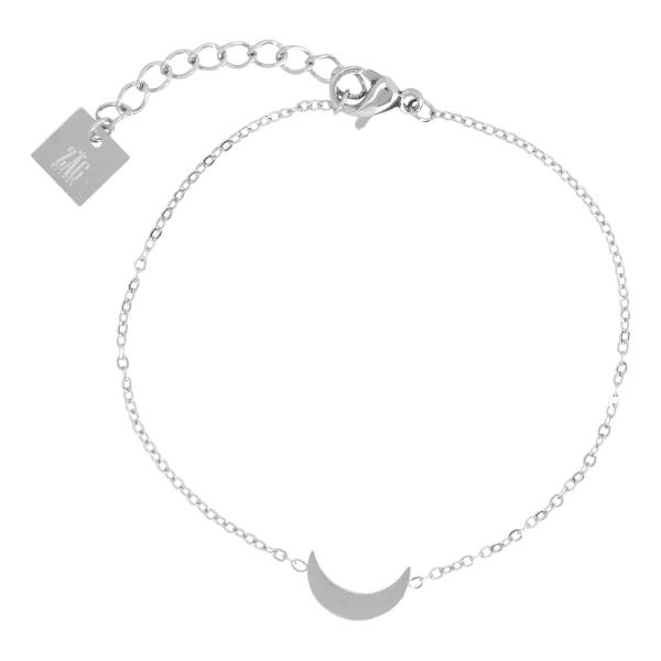 ZAG Bijoux ZAG Bijoux - Armband maan zilver