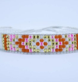 By Loffs By Loffs armband - White/orange