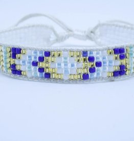 By Loffs By Loffs armband - White/blue