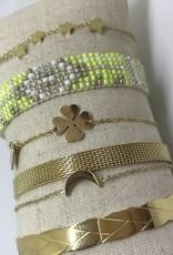 By Loffs By Loffs armband - Fluor yellow