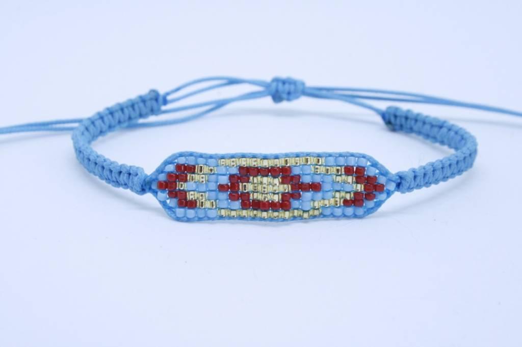 By Loffs By Loffs armband - Bleu small