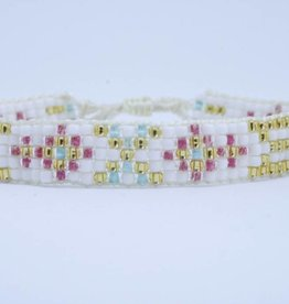 By Loffs By Loffs armband - White summer