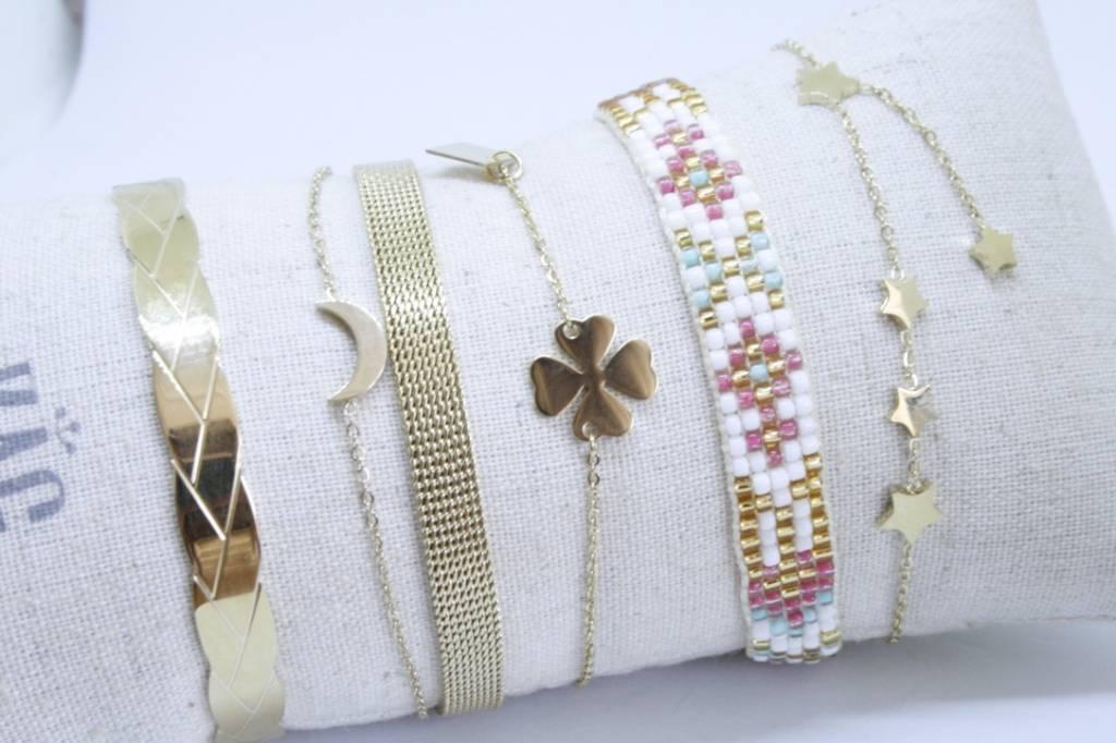 By Loffs By Loffs armband - White summer