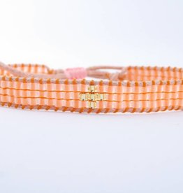 By Loffs By Loffs armband - Orange 2.0