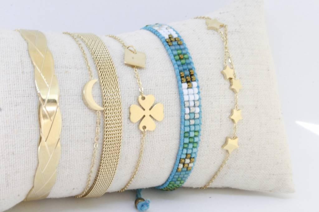 By Loffs By Loffs armband - Aqua blue