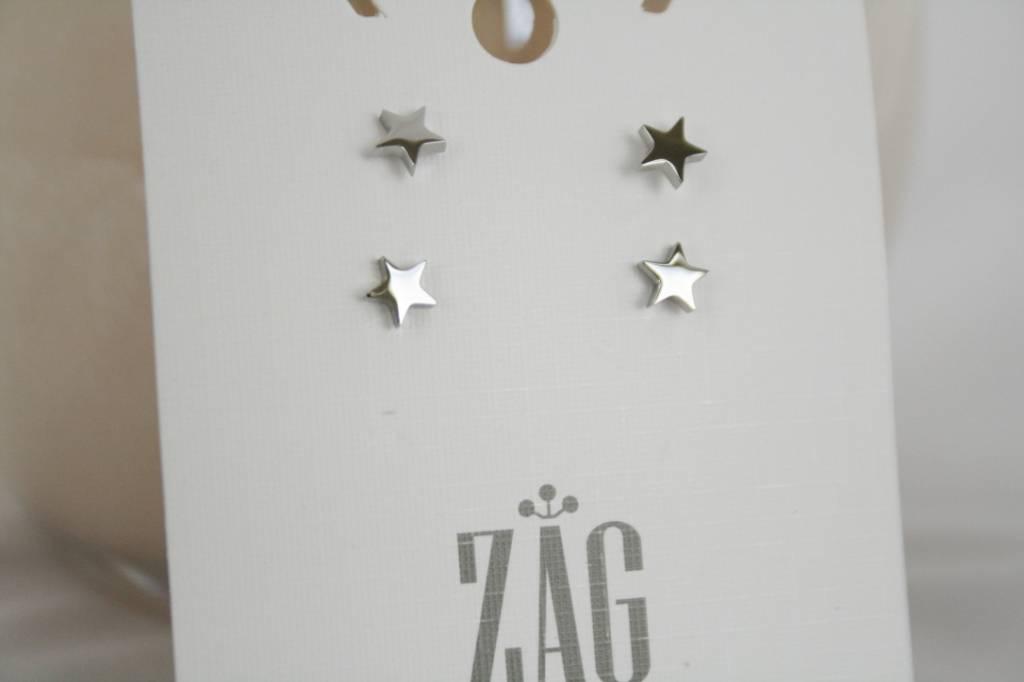 ZAG Bijoux ZAG Bijoux - Ster (studs) zilver