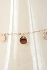 ZAG Bijoux Armband ZAG Bijoux - Coins rose goud