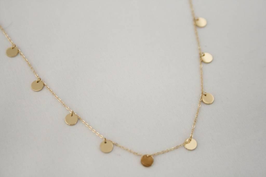 ZAG Bijoux ZAG Bijoux ketting - Coins goud
