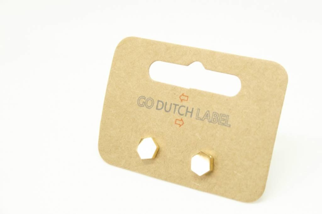 Go Dutch Label Go Dutch Label - Zeshoek goud