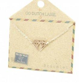 Go Dutch Label Armbanden Go Dutch Label - Diamant rose goud