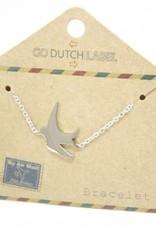 Go Dutch Label Go Dutch Label - Zwaluw zilver