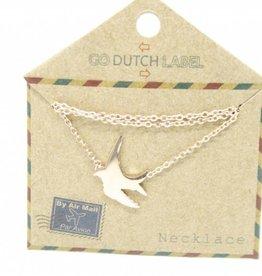 Go Dutch Label Armbanden Go Dutch Label - Zwaluw rose goud