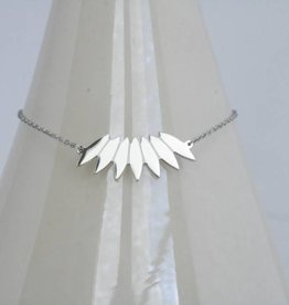 ZAG Bijoux ZAG Bijoux ketting - Indian summer zilver