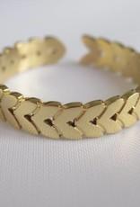 ZAG Bijoux ZAG Bijoux - Ring blad goud