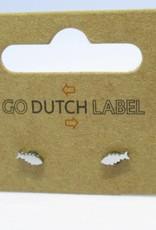 Go Dutch Label Go Dutch Label - Visje zilver