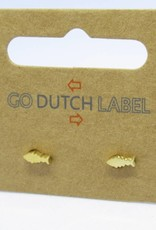 Go Dutch Label Go Dutch Label - Visje goud