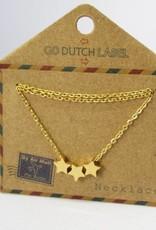 Go Dutch Label Go Dutch Label - Stars goud