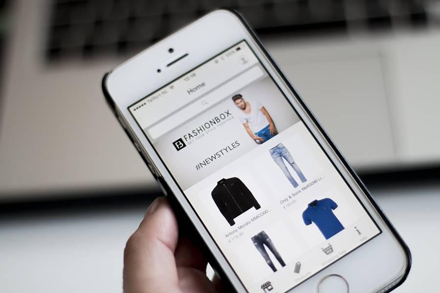 Tip: Download de FashionBox app!