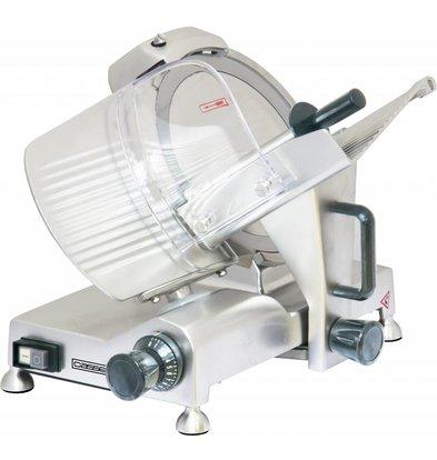 Casselin Trancheuse à Jambon Professionnelle - Lame 250mm - 150W - 485x400x355(h)mm
