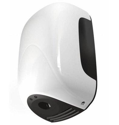 Vama Sèche-Mains MINI - Super Compact - Temps de Séchage 13 sec - Blanc ABS - 900W
