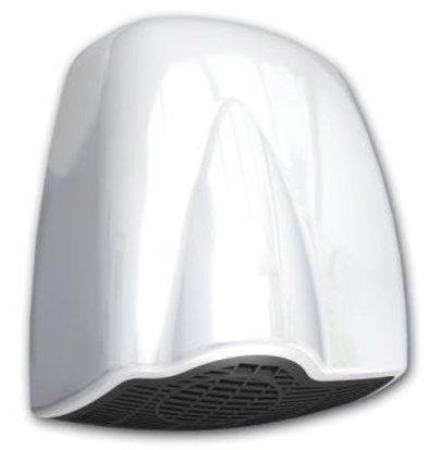 Vama Sèche-Mains Plastique Blanc | 15 sec | 1850W | SÈCHE-MAINS LE PLUS SILENCIEUX QUI EXISTE
