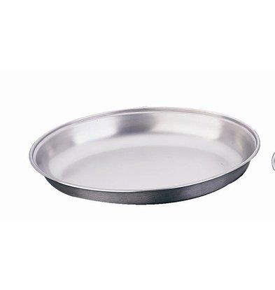 CHRselect Plat Ovale Inox | Disponibles en 4 Tailles