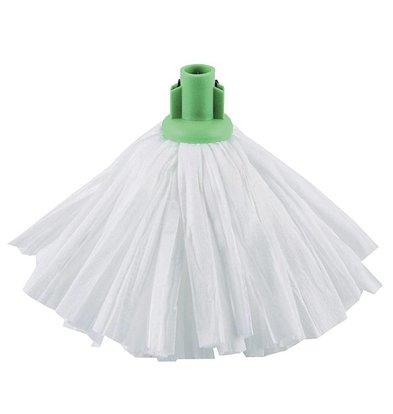 Jantex Mop Traditionnel Blanc - Jantex - Manche Vert - 460(l)mm