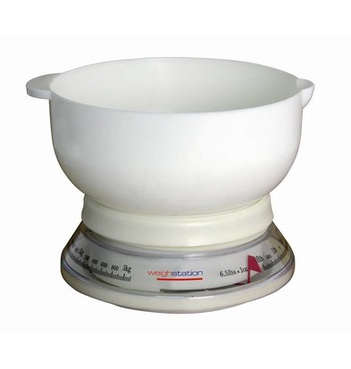 Weightstation Balance de Cuisine Analogue | 3Kg/25gr.