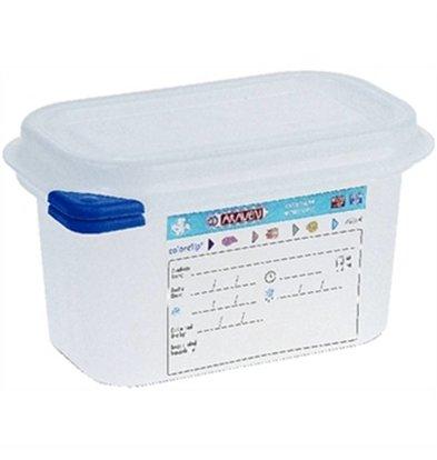 Araven Boîte à Provisions GN 1/9 - Aravan - 1 Litre - 4 Pièces