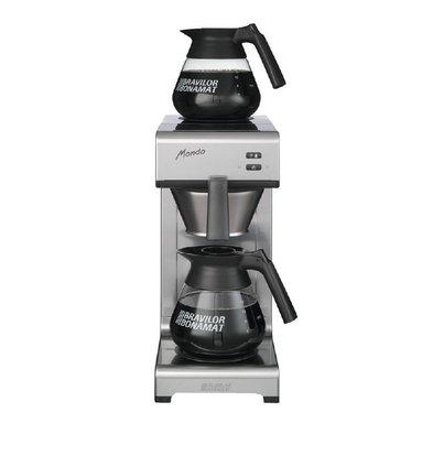 Bravilor Machine à Café & à Thé - Bravilor Mondo - 2 Plaques Chauffantes