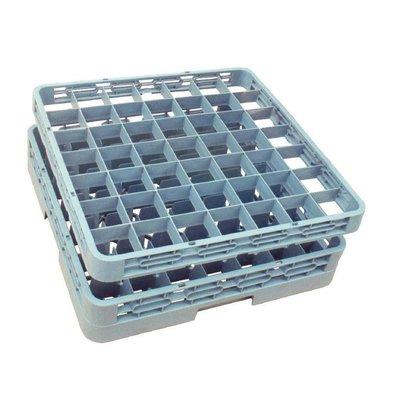 CHRselect Rehausse Pour Casier De Lavage Pour Verres 60mm - 49 Compartiments