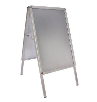 CHRselect Tableau Pour Trottoir - Aluminium - Format A2