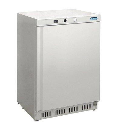 Polar Congélateur Blanc | 140 Litres | Contrôle Électronique | 600x600x850(h)mm