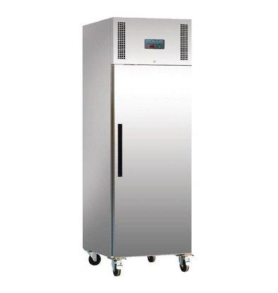 Polar Congélateur Inox | 600 Litres | Gastronorme 2/1 | 815x680x2000(h)mm
