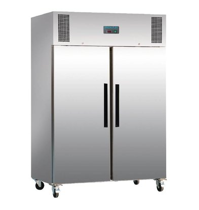 Polar Congélateur Inox | 1200 Litres | Gastronorme 2/1 | 815x1340x2000(h)mm