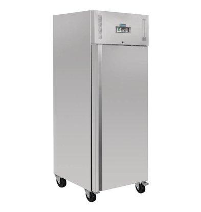 Polar Congélateur Inox | 650 Litres | Gastronorme 2/1 | 830(l)x740(L)x2010(h)mm