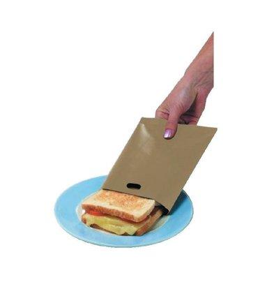 CHRselect Sacs à Sandwich Réutilisables | 150x200mm | Lot de 5
