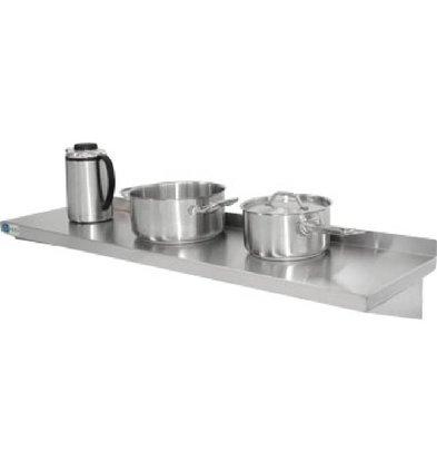 CHRselect Étagère Inox | 300(p)mm | COMPLÈTE | Disponibles en 5 Largeurs