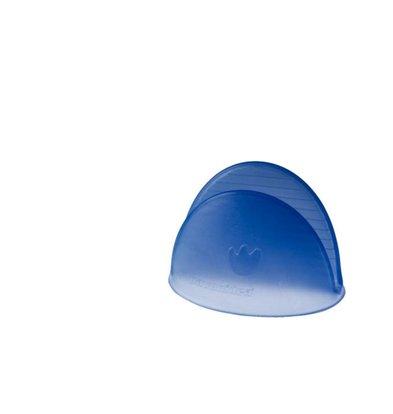 Pavoni Moufle Anti-Chaleur En Silicone Bleu - Pavoni