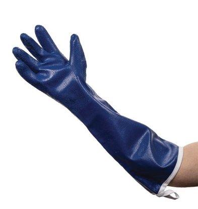 Burnguard Gant De Four Anti-Vapeur Bleu - 500mm