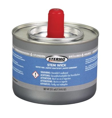 Sterno Combustile Liquide Sterno - 6 Heures - 12 Pièces