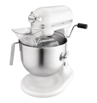 KitchenAid Mixeur Professionnel KitchenAid K5 - Blanc - 6,9 Litres
