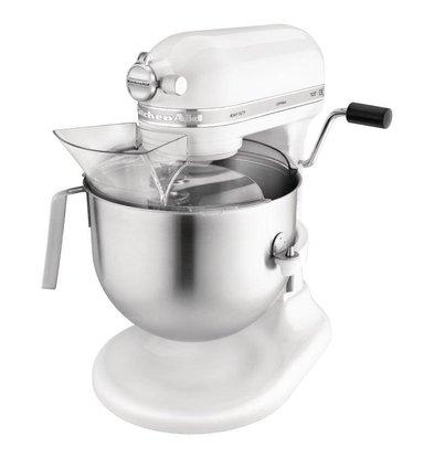 KitchenAid Mixeur Professionnel KitchenAid K5 - Blanc - 6,9 Litres