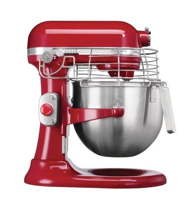 KitchenAid Batteur Professionnel KitchenAid 5K - Rouge - 6,9 Litres